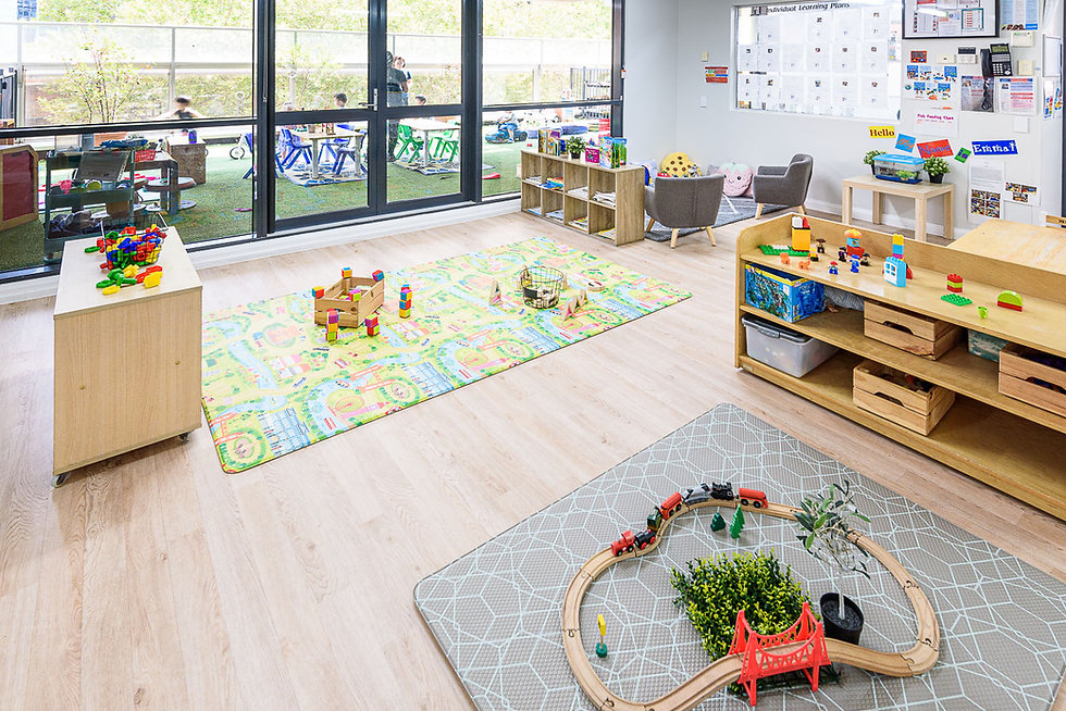 Pre toddlers learning environment World Tower Child Care Sydney CBD