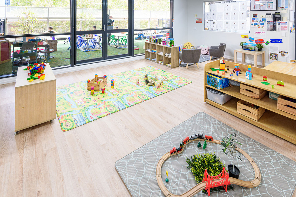 Learning environment at World Tower Child Care