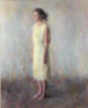Aure en robe jaune clair, 2018.19 (100,2