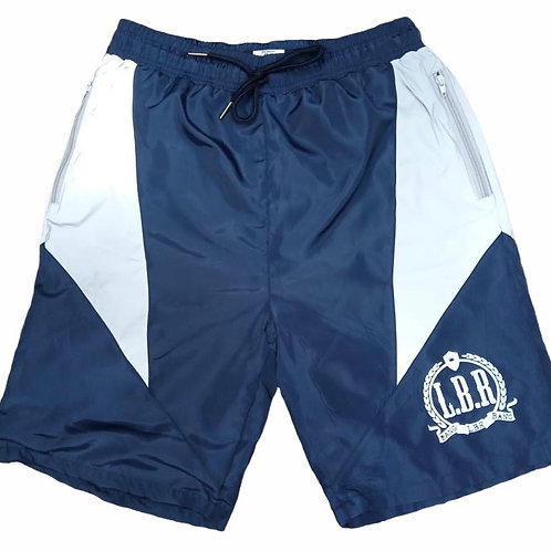 """The Shield"" Reflective Shorts - Blue"