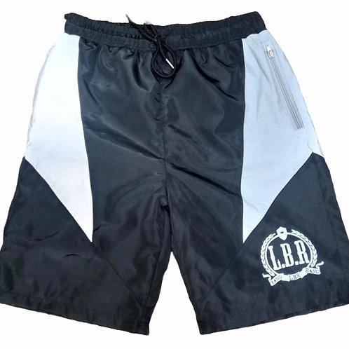 """The Shield"" Reflective Shorts - Black"