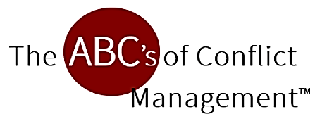 ABCs of Conflict Management