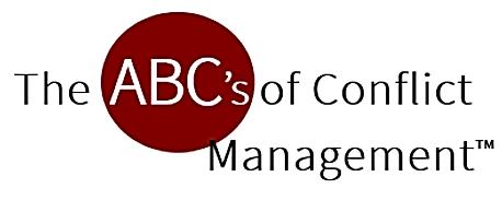 ABCs of Conflict Management