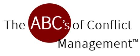 ABC's of Conflict Management