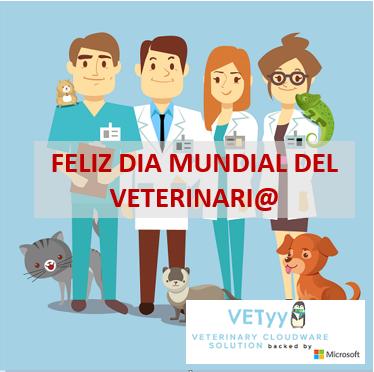 El 27 de Abril de 2019 se celebra el dia Mundial Veterinario