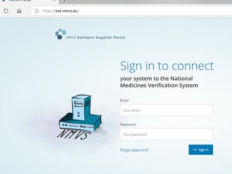MICROSOFT DYNAMICS SALES integración con el NMVS (National Medicines Verification System) by ARVATO
