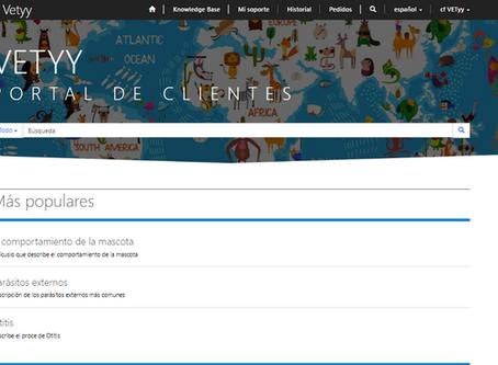 Portal Veterinario de Servicio al Cliente