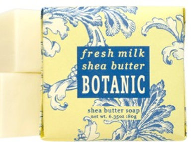 Fresh Milk + Shea Butter  Botanical Butter Soaps