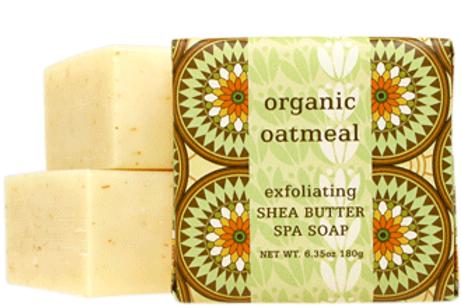 Organic Oatmeal- Exfoliating Botanical Butter Soaps