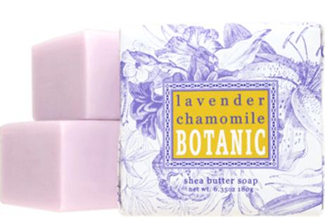 Lavender Chamomile  Botanical Butter Soaps