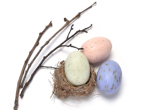 French Hen Speckled Egg Soap