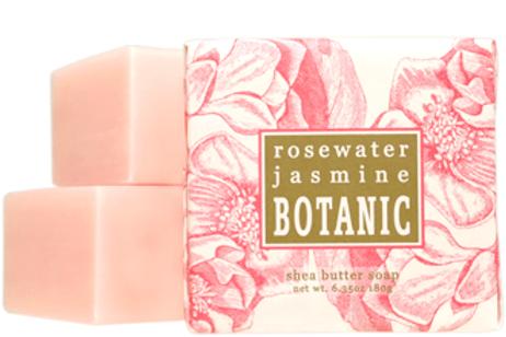 Rosewaater + Jasmine Botanical Butter Soaps