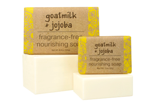 Goat Milk+Jojoba Fragrance Free Soap