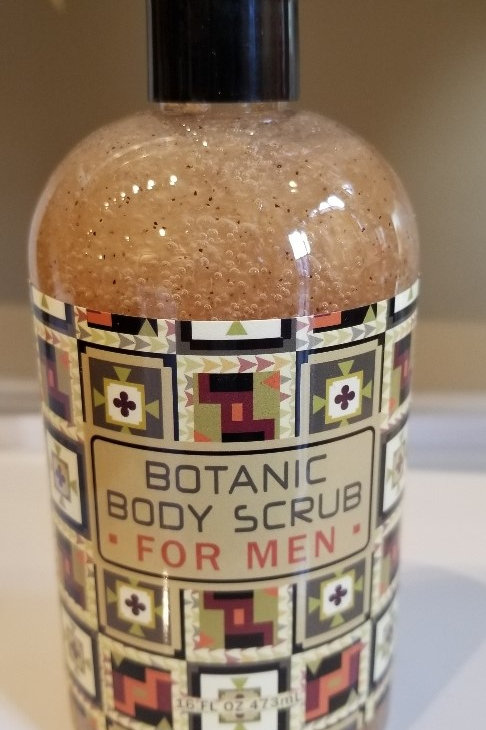 BOTANIC BODY SCRUB FOR MEN