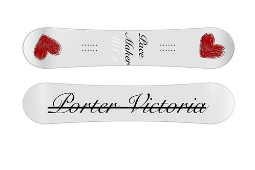 """Porter Victoria """"Pace Maker 2""""Snowboard"""