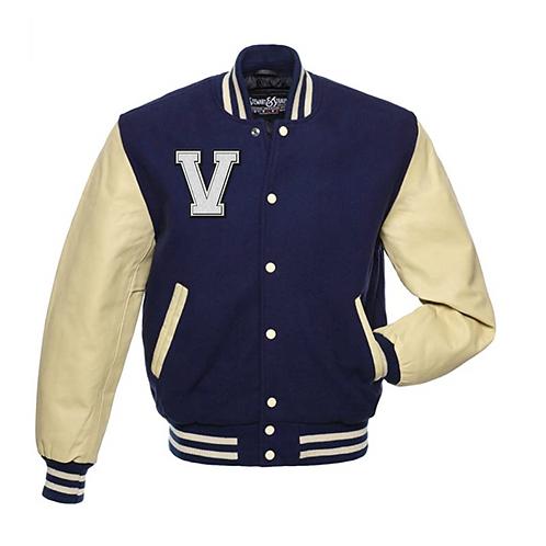 """""""V. Porter""""Embroidered Letterman Jacket"""