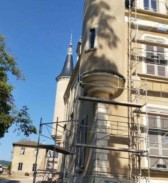 Rénovation d'un monument historique