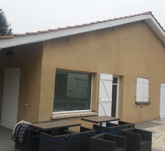 Rénovation d'une façade - Maison individuelle