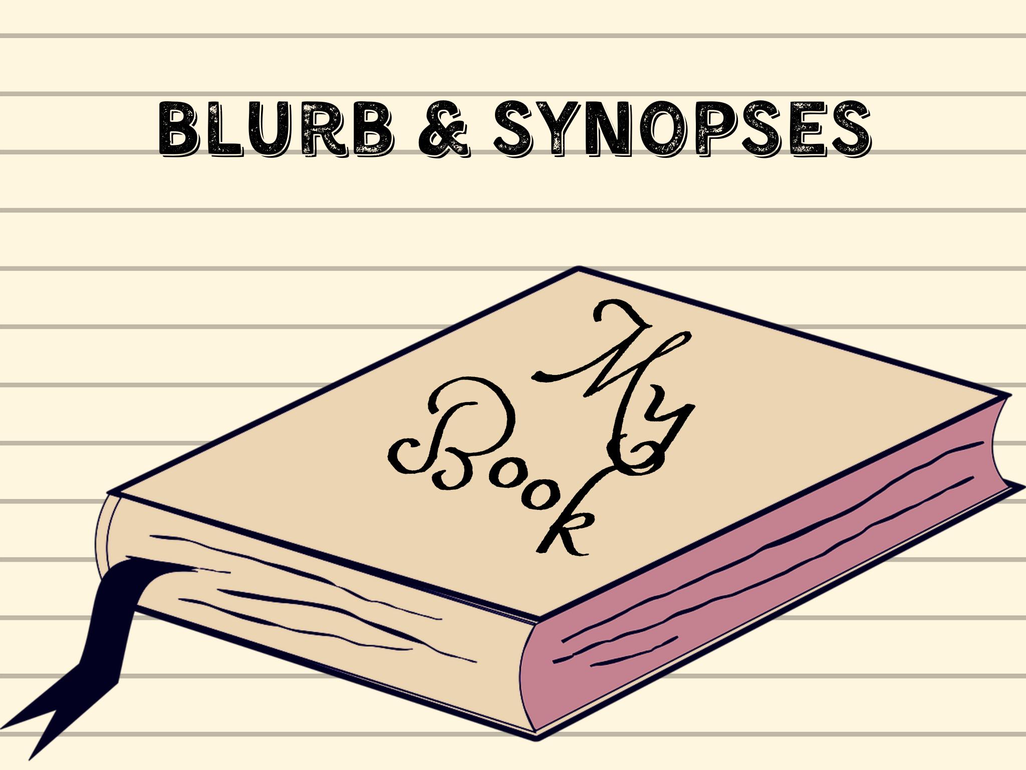 Book Blurb/Synopsis