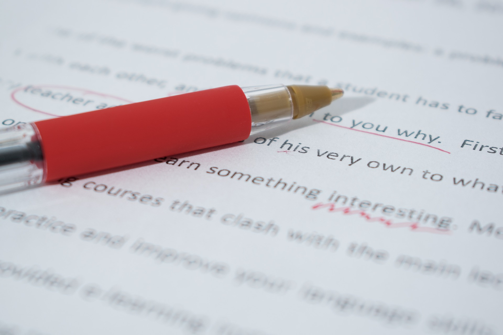 Line Editing/Proofreading