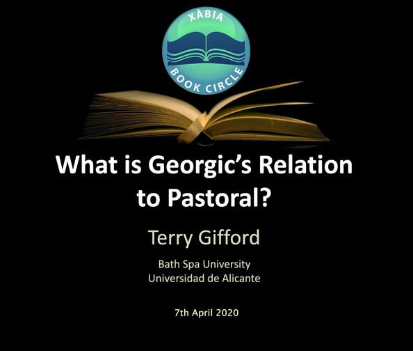 Pastoral and Georgic Influences