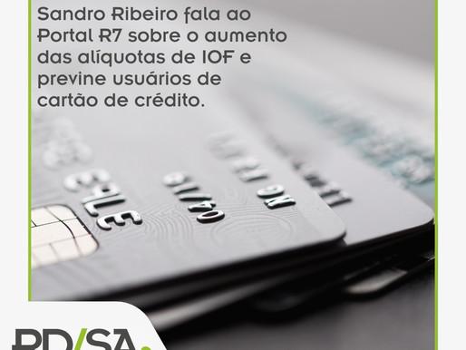 Aumento no IOF virá na próxima fatura do cartão de crédito