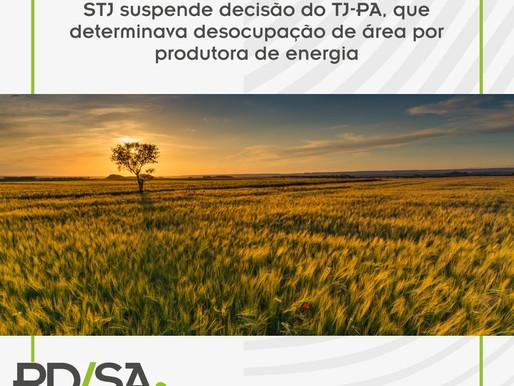 STJ suspende decisão do TJ-PA, que determinava desocupação de área por produtora de energia