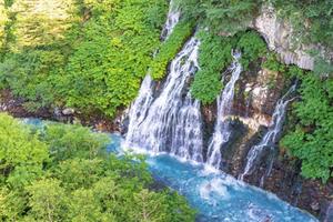 Water falls shirahige falls out of furano in biei township