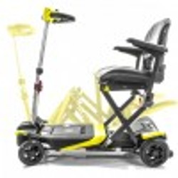 Transformer Yellow Automatic Folding Scooter