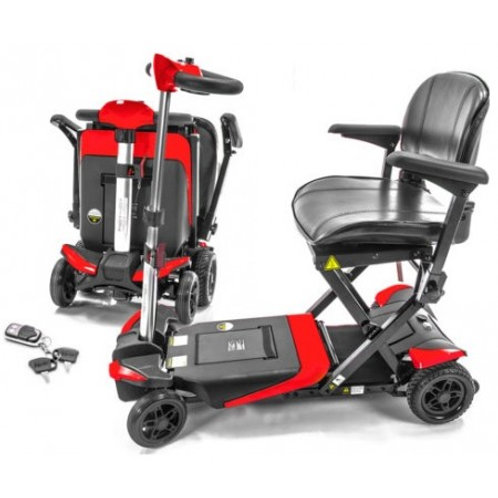 2018 Transformer Automatic Folding Scooter-$100OFF-Free Basket and Side Arm Bag
