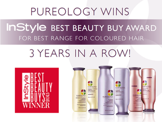 Pureology Haircare wins the InStyle Best Beauty Buy Award for the 3rd year in a row!
