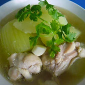 Cucumber With Chicken Soup.jpg