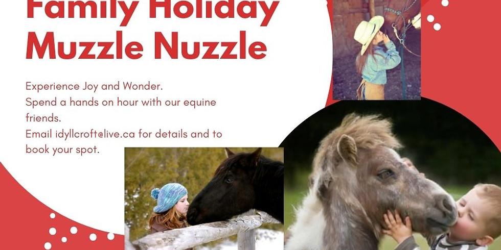 Family Holiday Muzzle Nuzzle