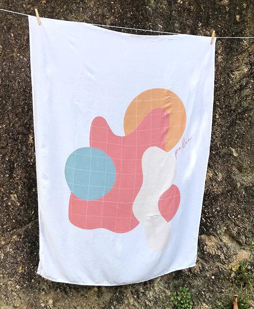 Canga lenço simetria