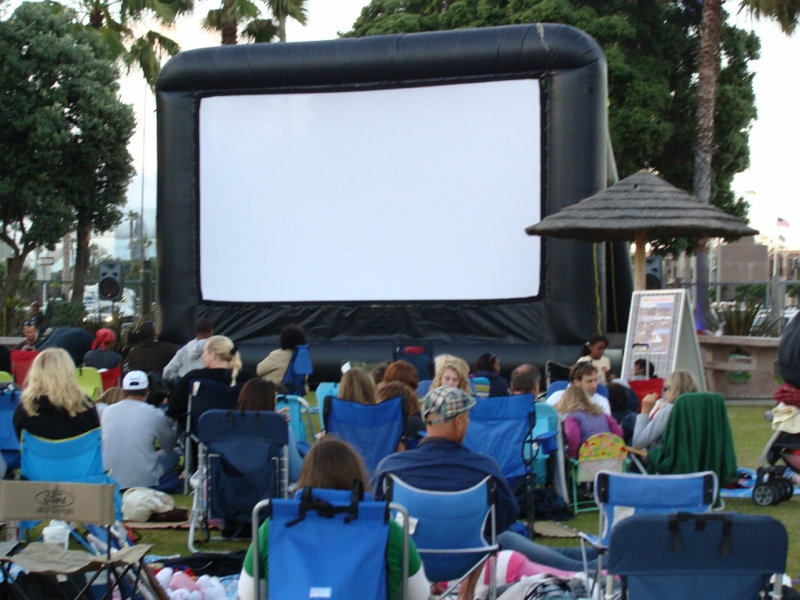 Outdoor Movie Events - starting at