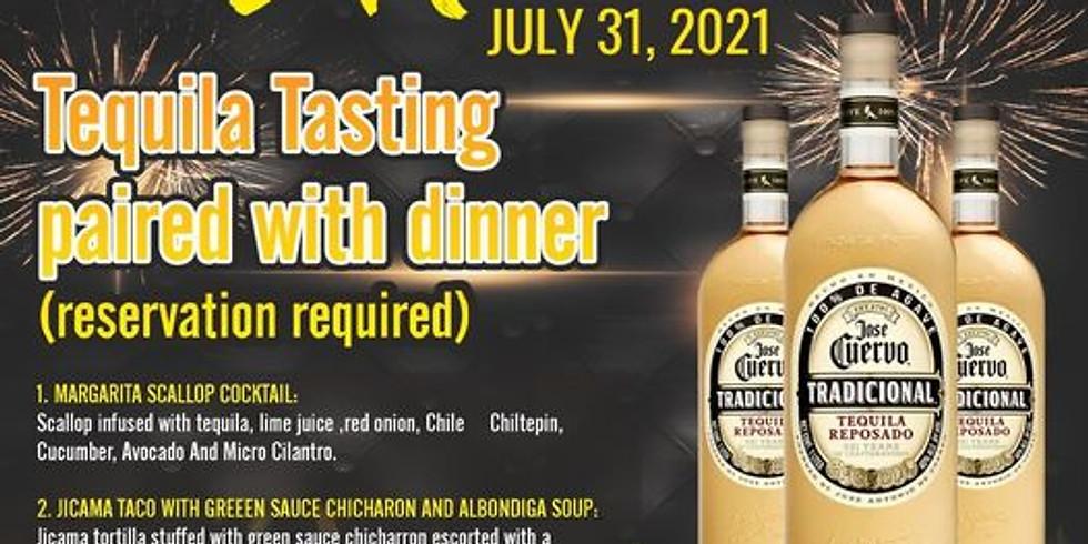 Jose Cuervo Tradicional Pairing Dinner