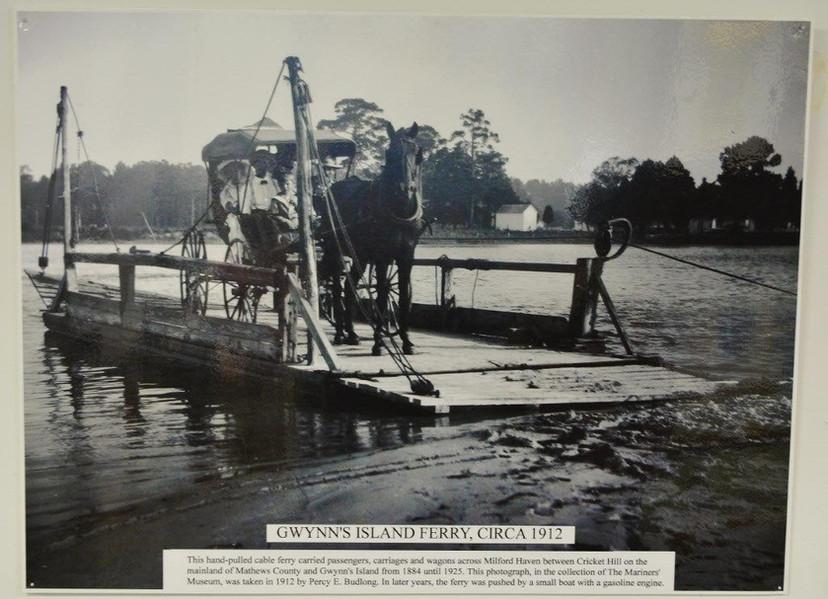 Gwynn's Island Ferry 1912