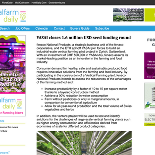 Vertical Farm Daily