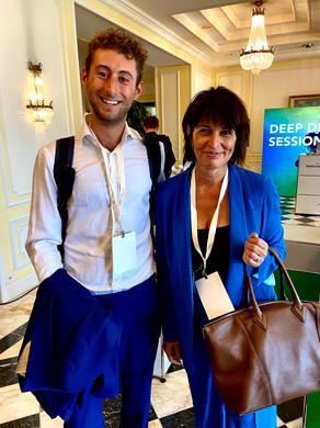 YASAI meets Doris Leuthard at Circular Economy Entrepreneurs-Conference