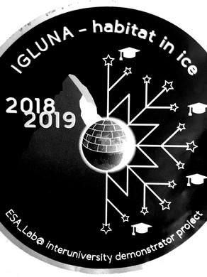 Igluna 2019: A moon habitat on a glacier in the Swiss Alps