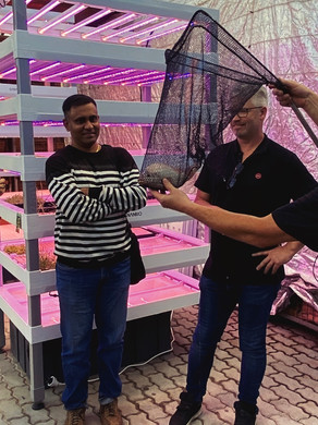 YASAI visits the Association for Vertical Farming in Munich