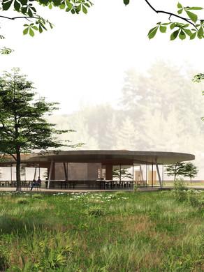 Yasai's contribution to the Lafarge Holcim Design Award: between & above