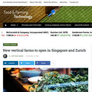 Food & Farming Technology