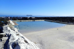 Milton's pool in Seapoint