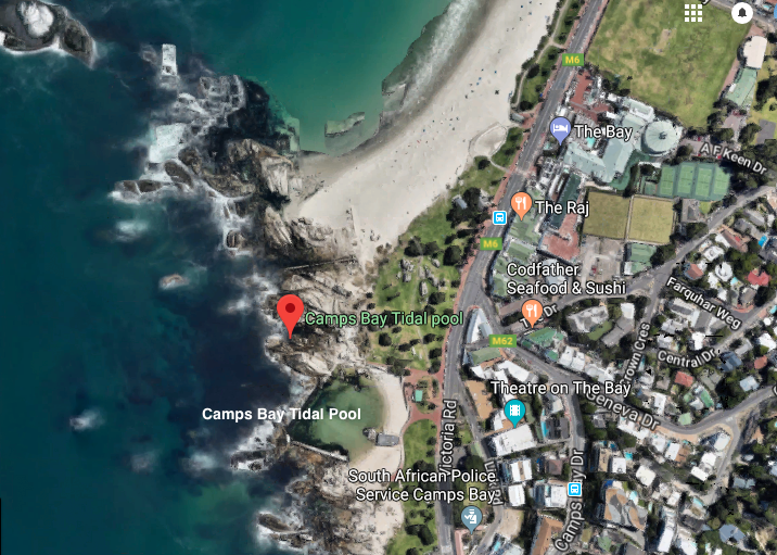 Camps Bay Tidal Pool on google maps
