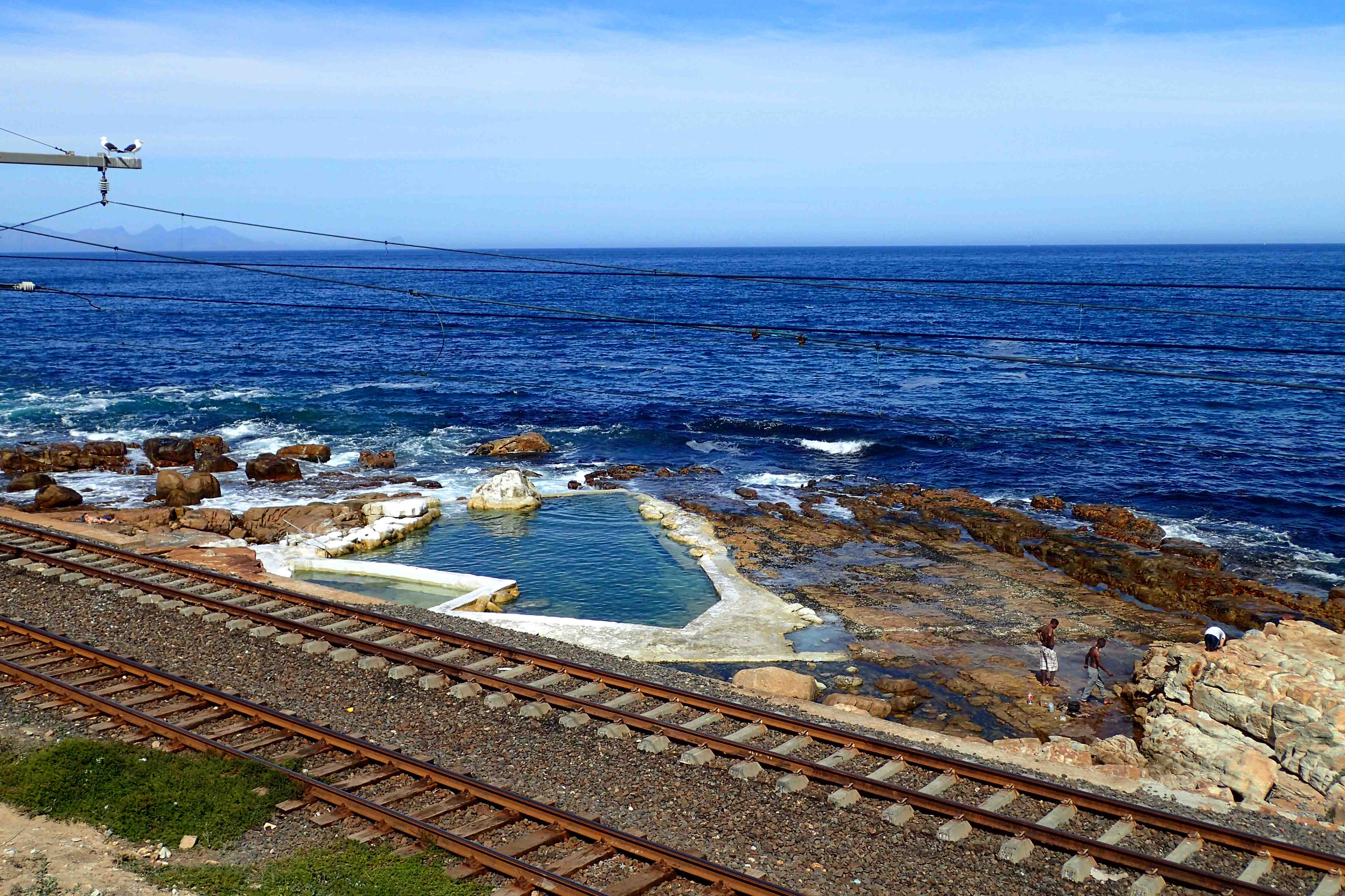 Woolies Pool near Kalk Bay