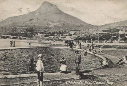 The Children's Pool at Camps Bay Beach