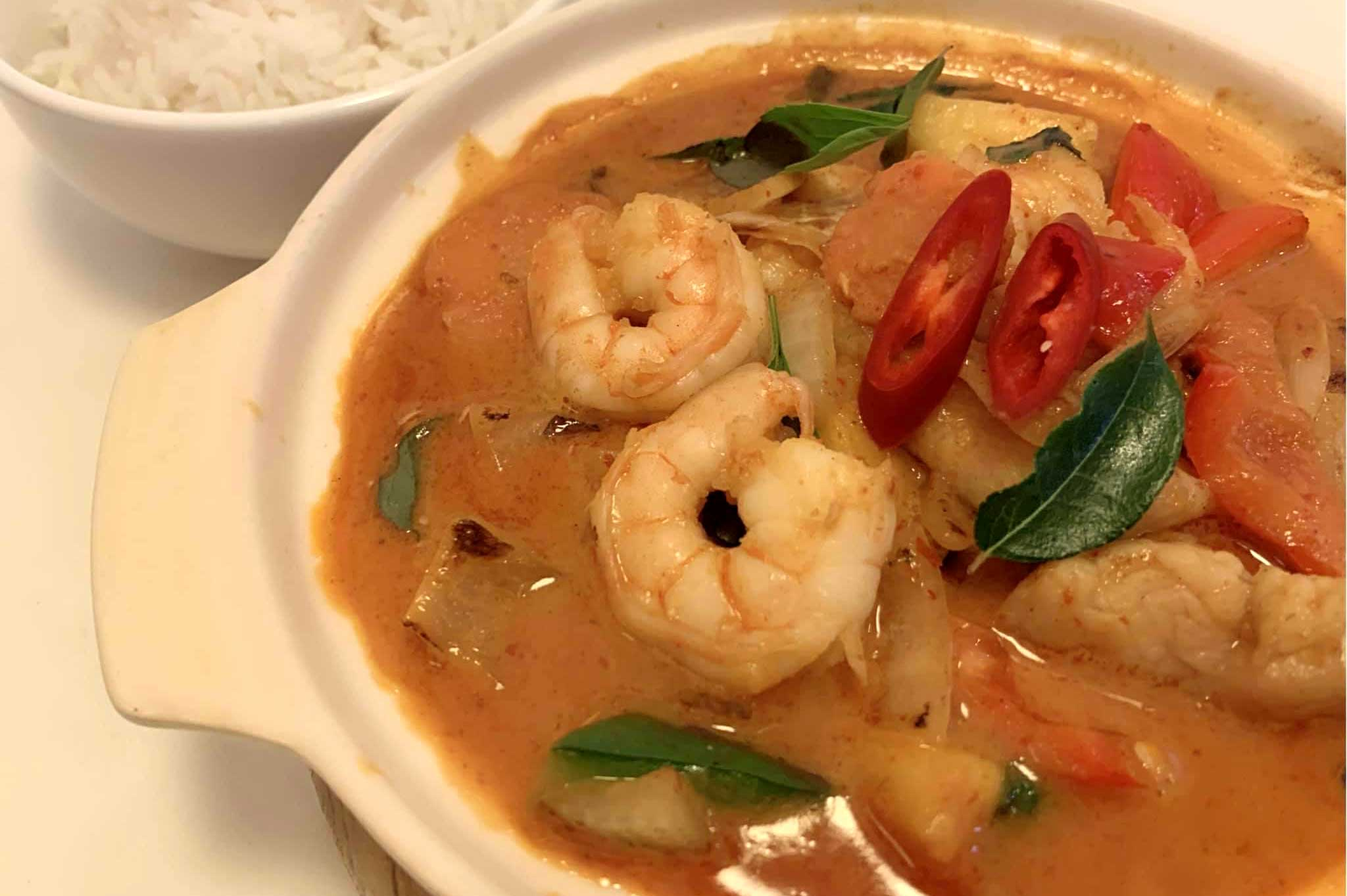 Fragrant-Thai-prawn-Curry