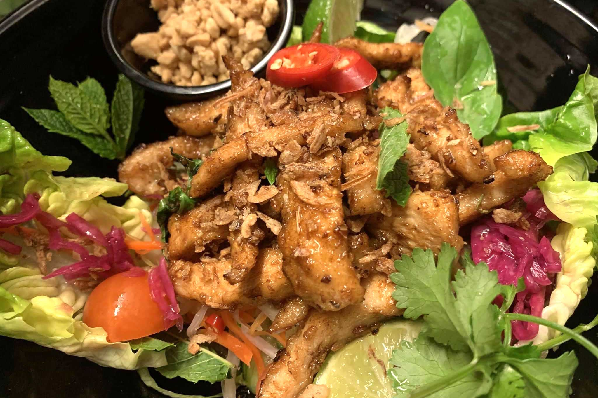 Lemongrass-chicken-salad
