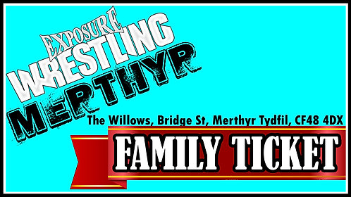 Merthyr Family Ticket: 22/11/20